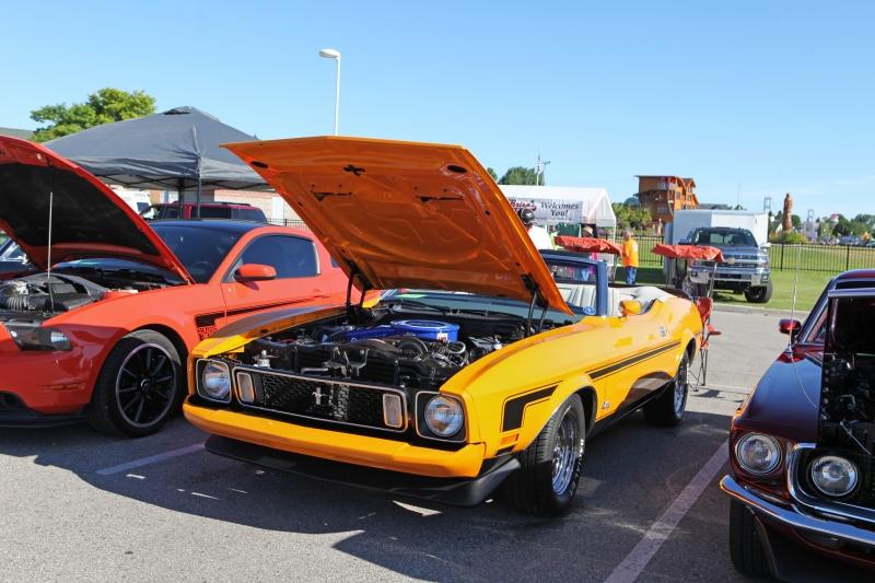 Mackinaw City Car Show