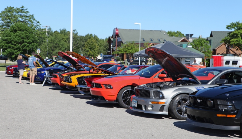 Th Annual Mustang Car Show Mackinaw City - Mustang car shows