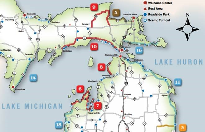 Map Of Mackinaw City map | Mackinaw City