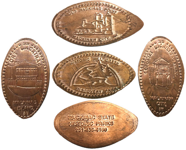 Pressed Pennies: Shiny Souvenirs from the Straits of